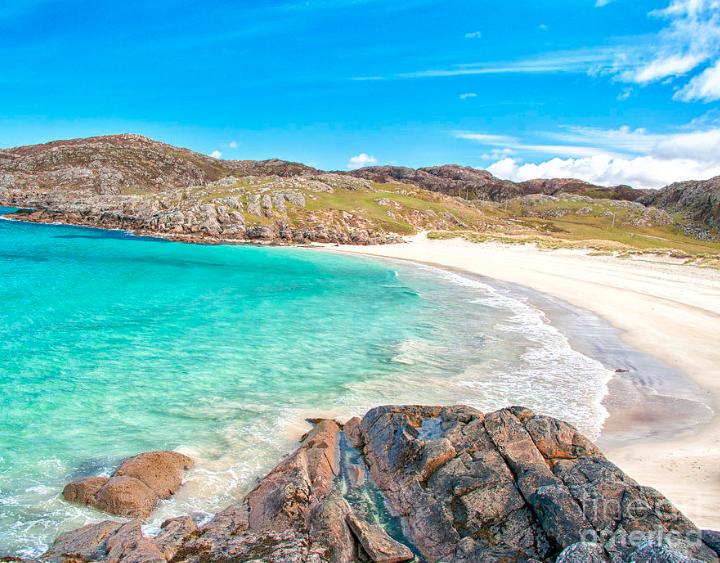 Beach at Achmelvich Scotland