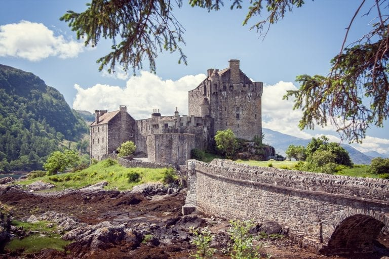 historic Eilean Donan castle