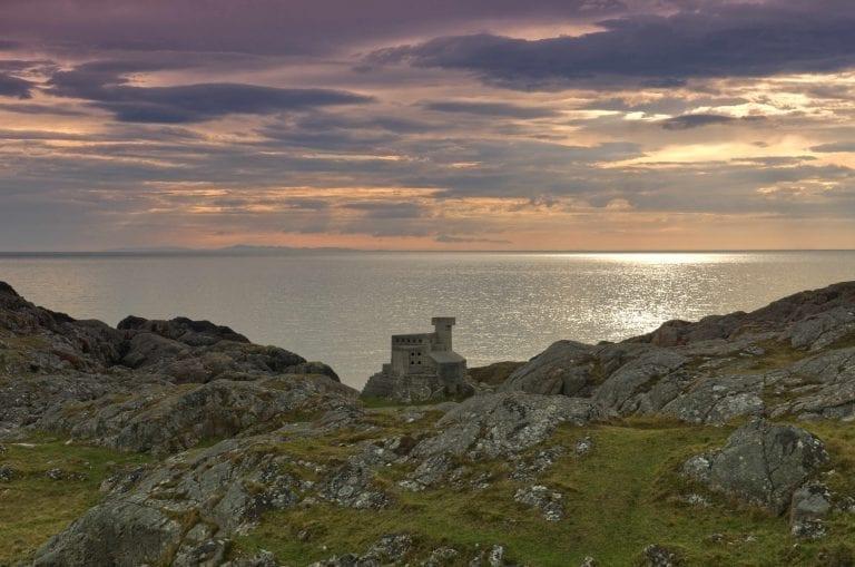 small stone Hermit's Castle