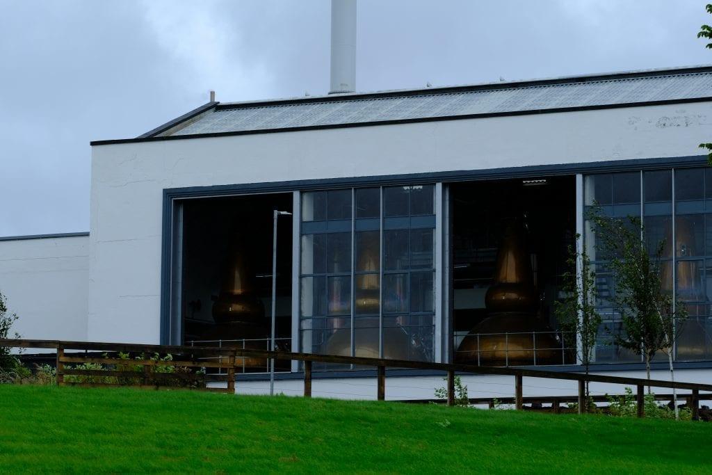 Whisky Distillery Building in Brora