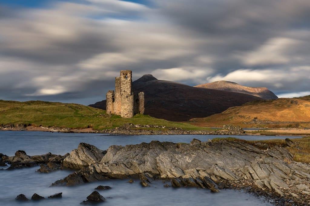 Loch Assynt & Ardveck Castle