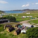 Achmelvich Site Aerial View