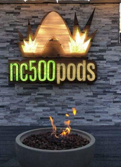 NC500Pods Firepit