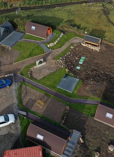 Brora Site Aerial View