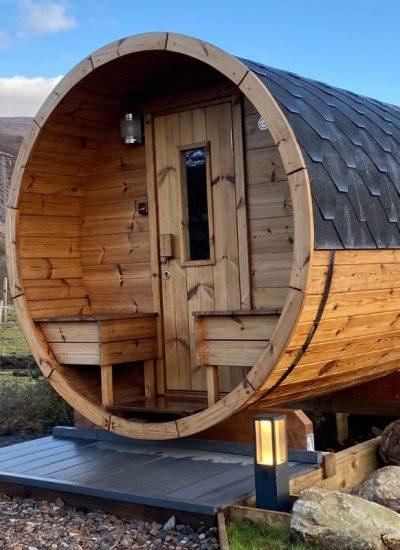 NC500pods Sauna
