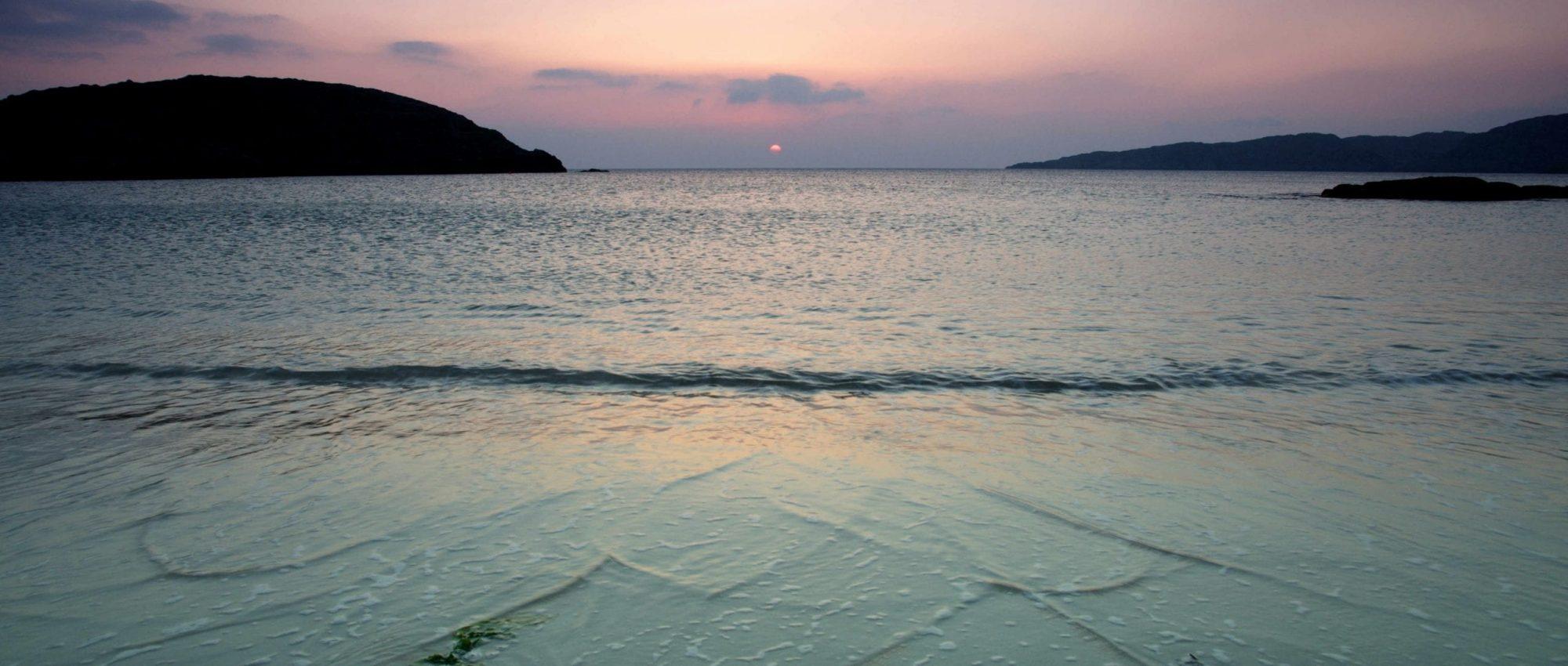Achmelvich Beach Sunset