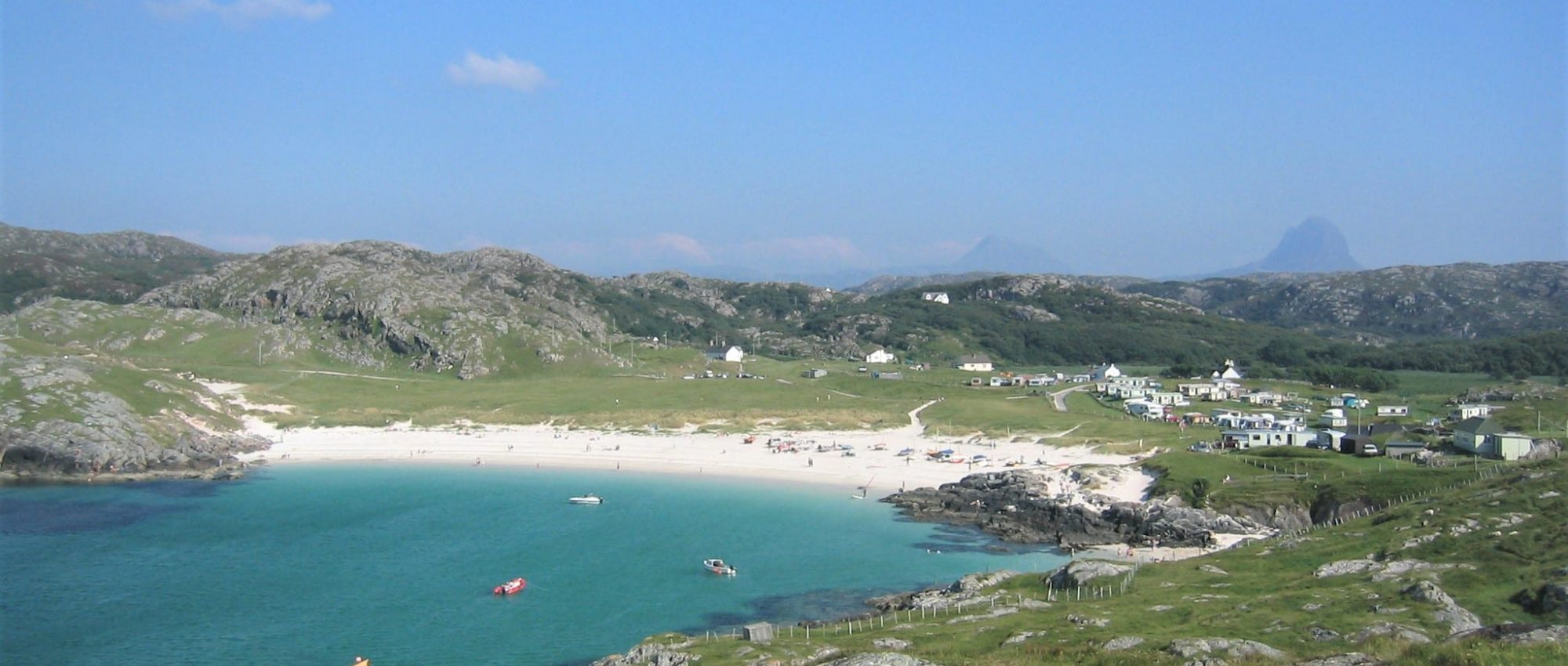 Places to Eat in Achmelvich Beach