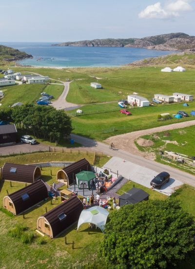 how to find nc500 pods in Achmelvich bay