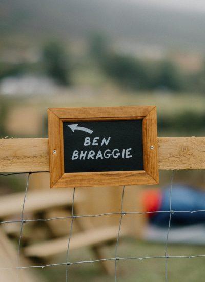 Ben Bhraggie Sign